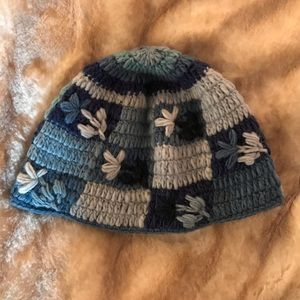 Other - Hand knit fleece lined adorable hat.